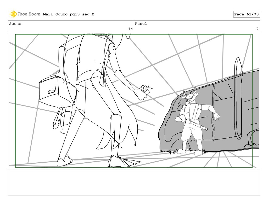 Scene 14 Panel 7 Mari Jouzo pg13 seq 2 Page 61/...