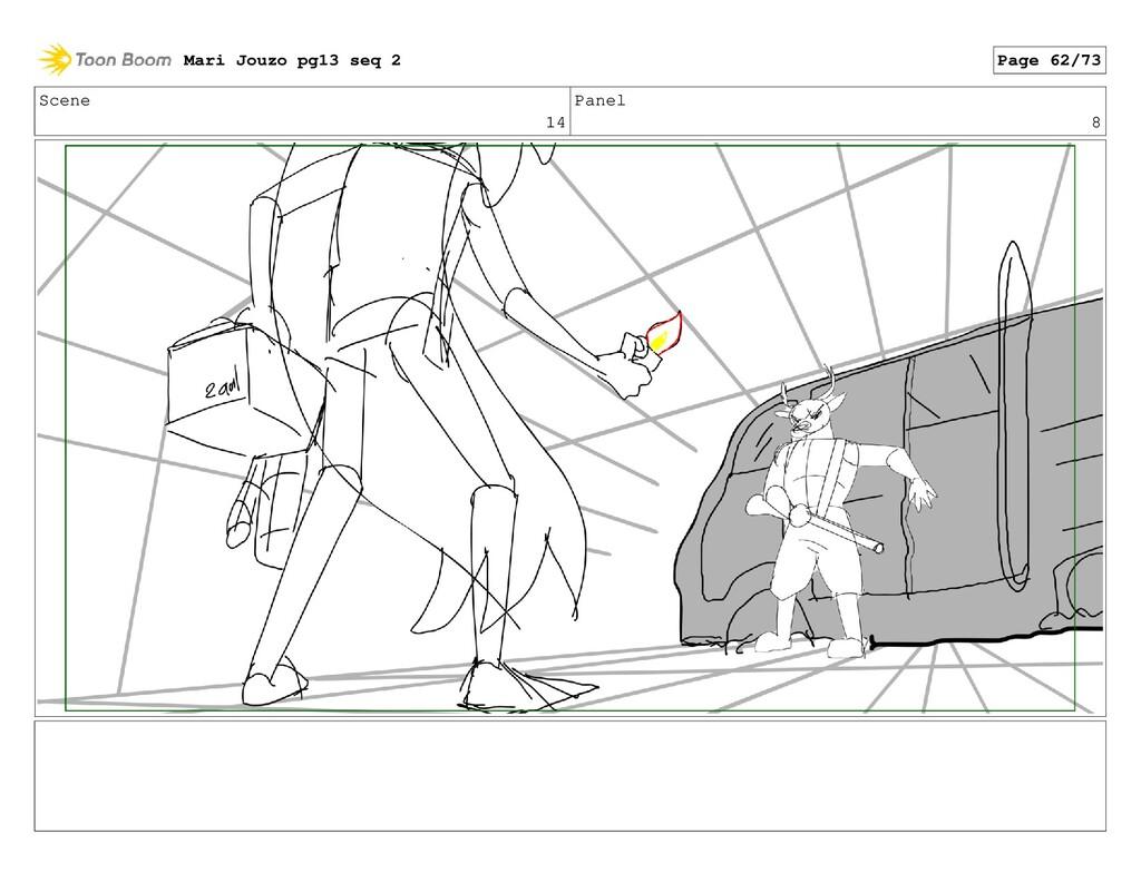 Scene 14 Panel 8 Mari Jouzo pg13 seq 2 Page 62/...