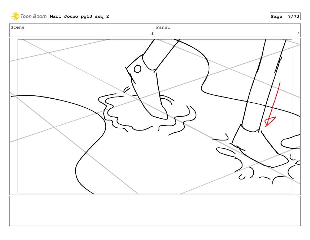 Scene 1 Panel 7 Mari Jouzo pg13 seq 2 Page 7/73