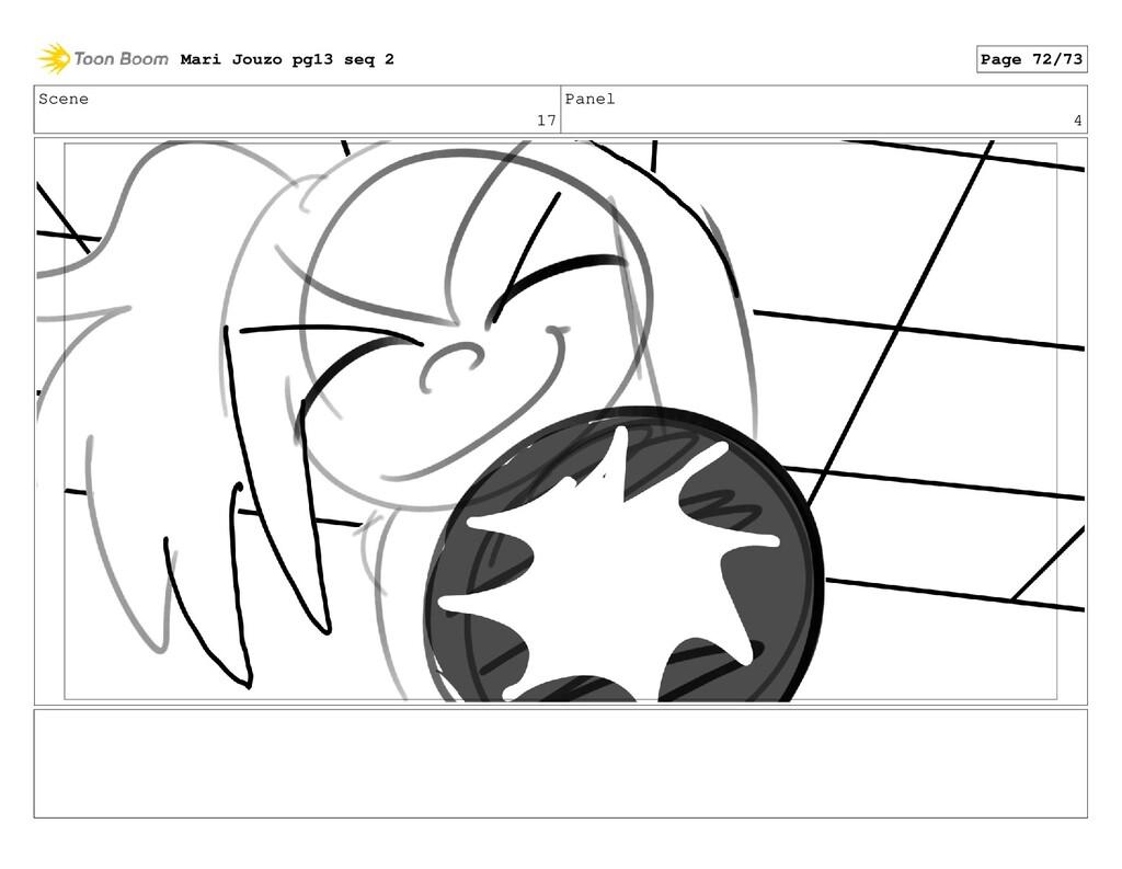 Scene 17 Panel 4 Mari Jouzo pg13 seq 2 Page 72/...
