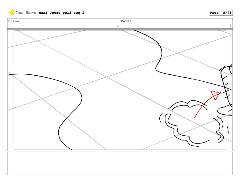 Scene 1 Panel 8 Mari Jouzo pg13 seq 2 Page 8/73