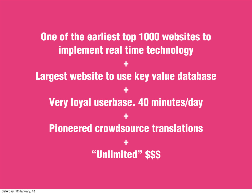 One of the earliest top 1000 websites to implem...
