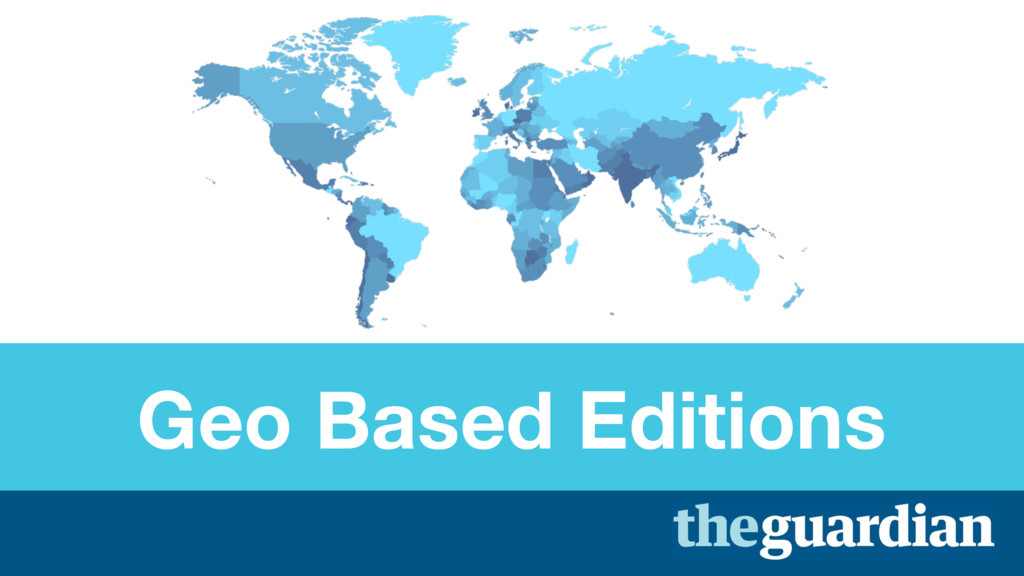 Geo Based Editions