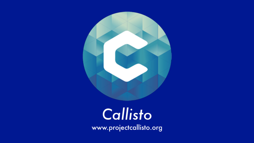 Callisto www.projectcallisto.org