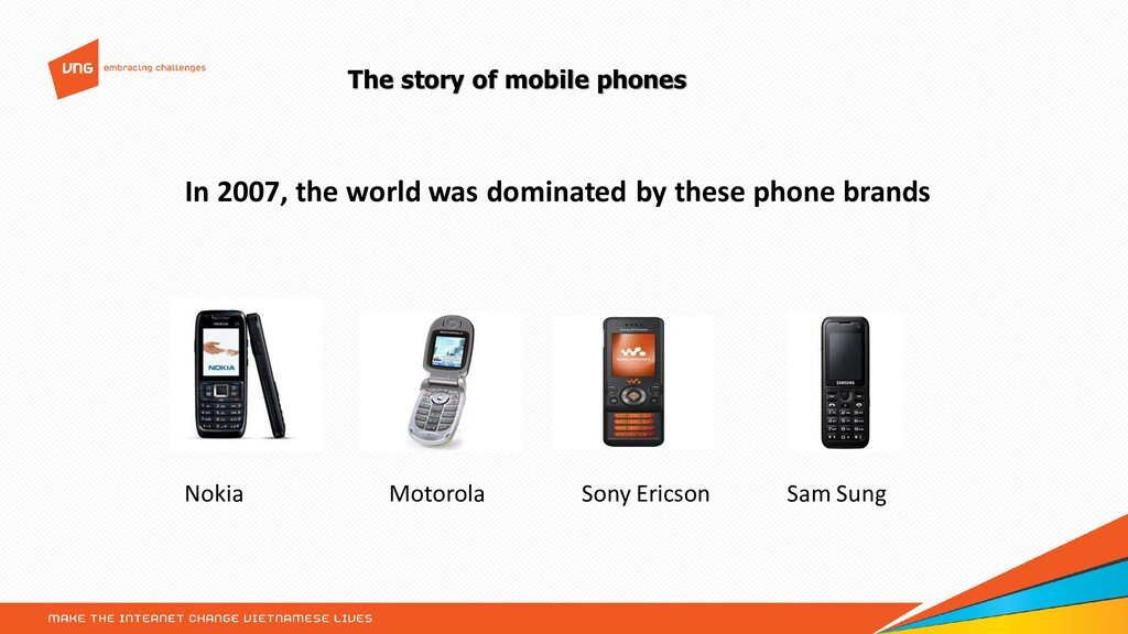 The story of mobile phones In 2007, the world w...