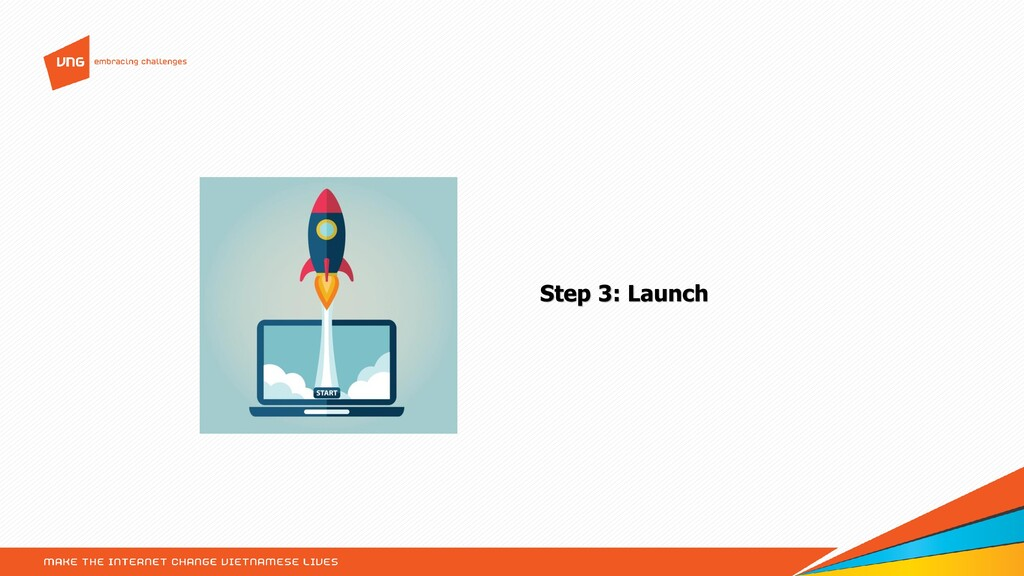 Step 3: Launch