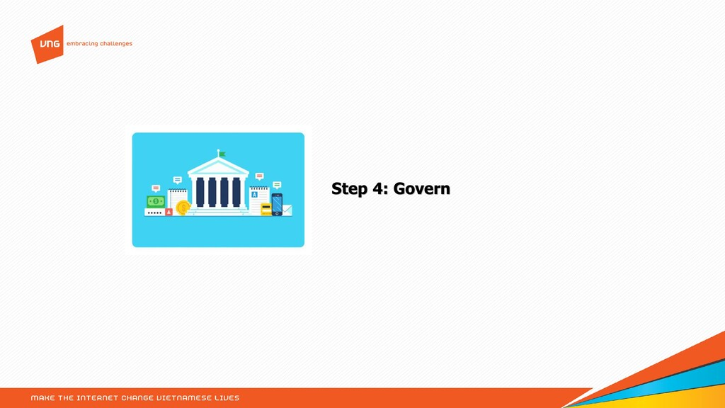 Step 4: Govern