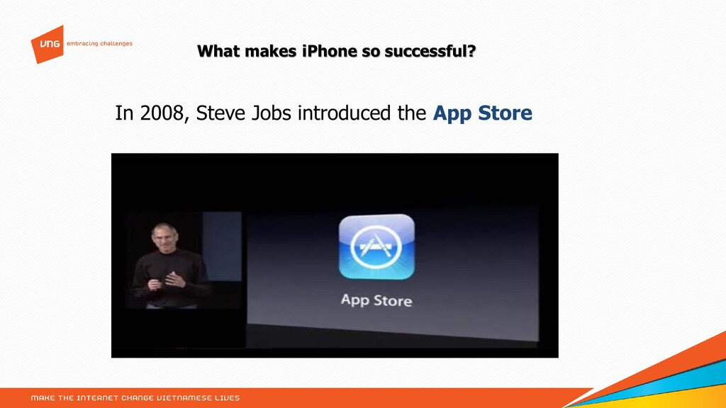 What makes iPhone so successful? In 2008, Steve...