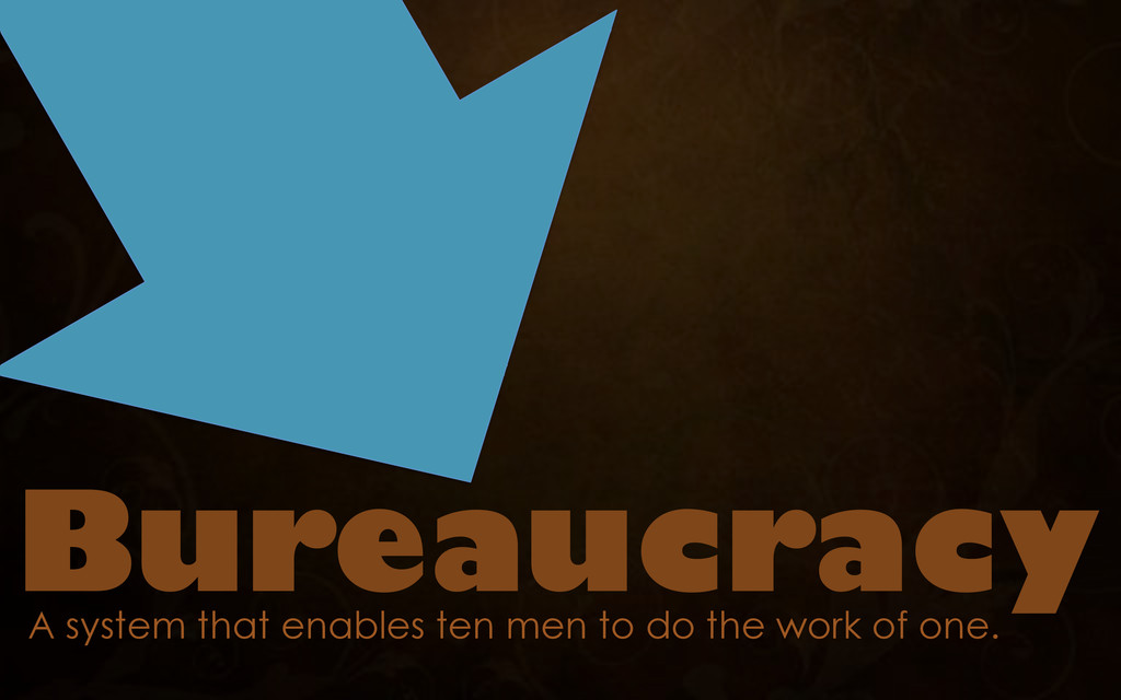 A system that enables ten men to do the work of...