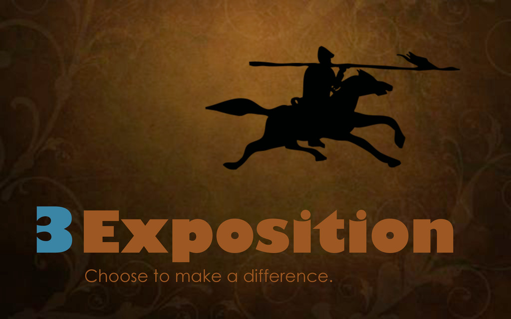 3Exposition Choose to make a difference.