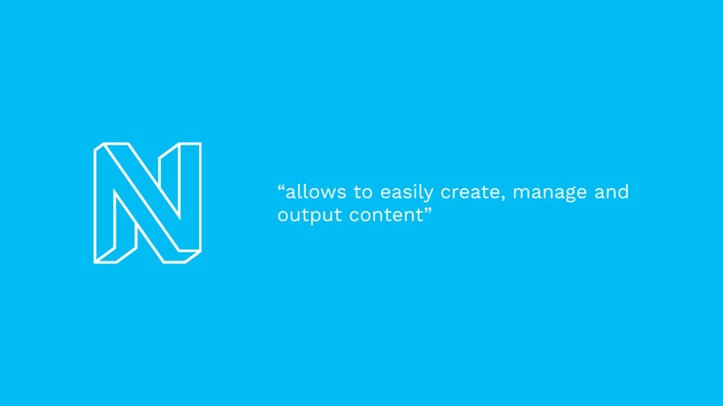 """""""allows to easily create, manage and output con..."""