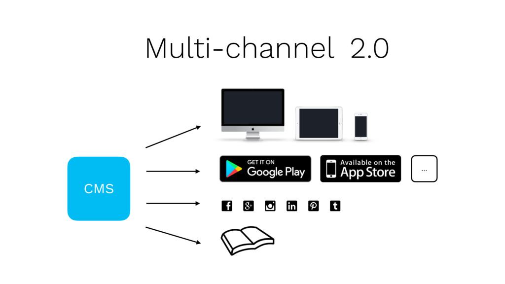 Multi-channel 2.0 CMS …