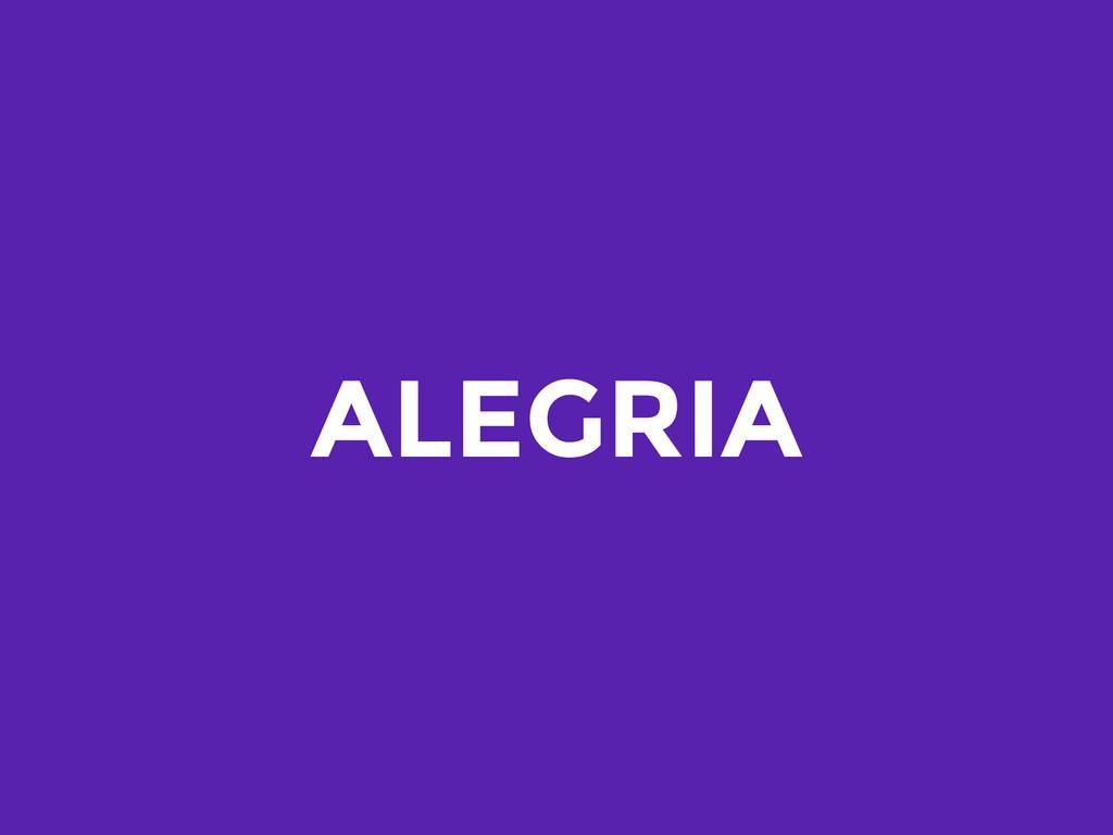 ALEGRIA