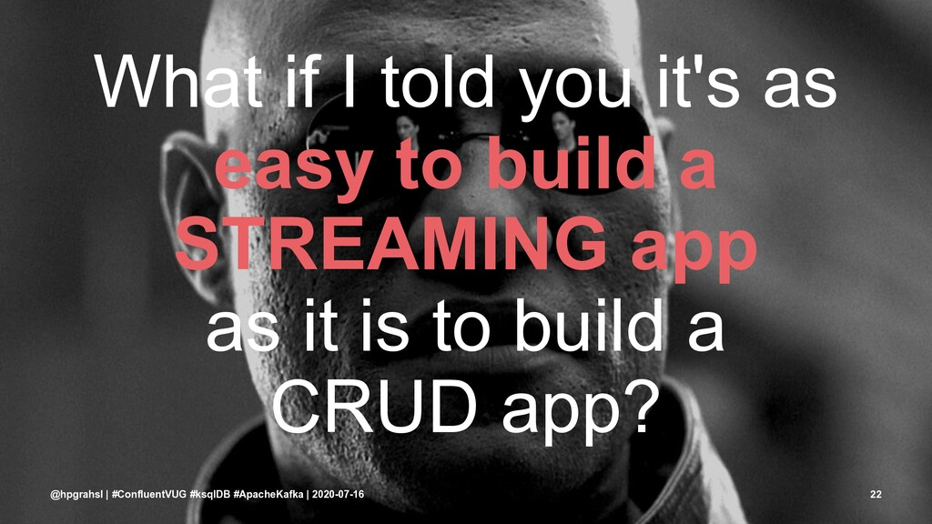 What if I told you it's as easy to build a STRE...