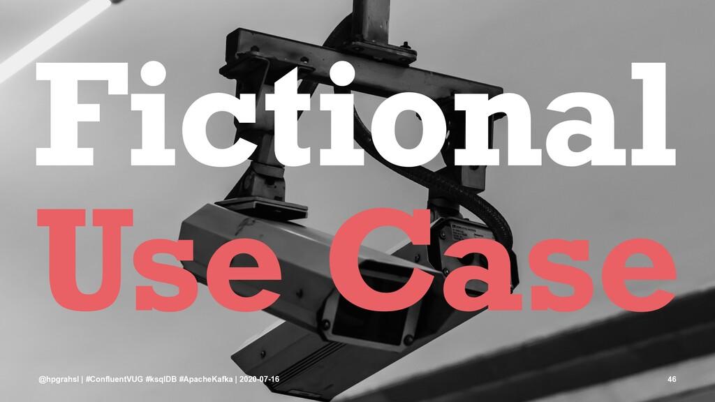 Fictional Use Case @hpgrahsl | #ConfluentVUG #k...