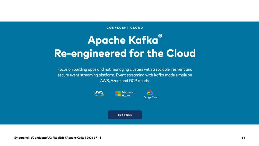 @hpgrahsl | #ConfluentVUG #ksqlDB #ApacheKafka ...