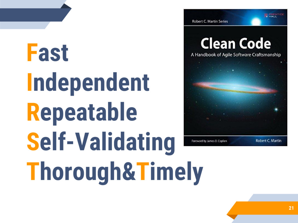 21 Fast Independent Repeatable Self-Validating ...