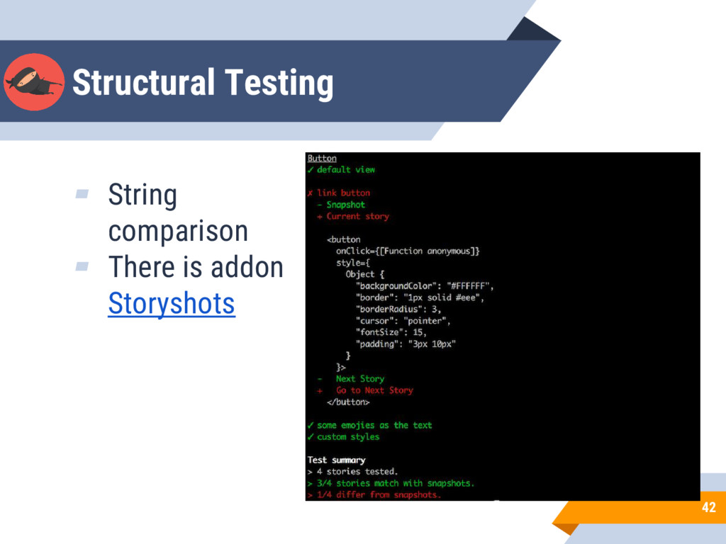 Structural Testing 42 ▰ String сomparison ▰ The...