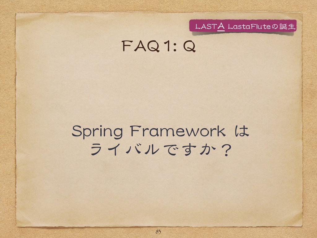 FFAAQQ11::  QQ SSpprriinngg  FFrraammeewwoorrkk...
