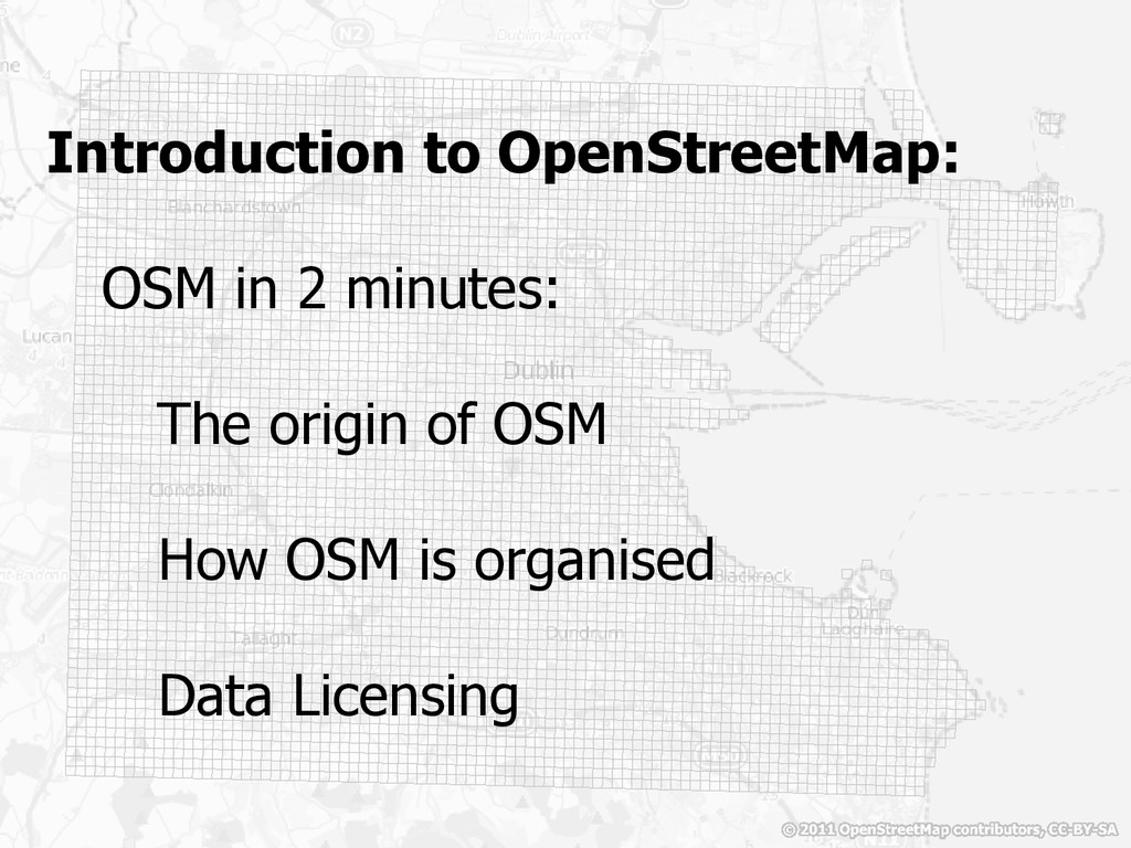Introduction to OpenStreetMap: OSM in 2 minutes...