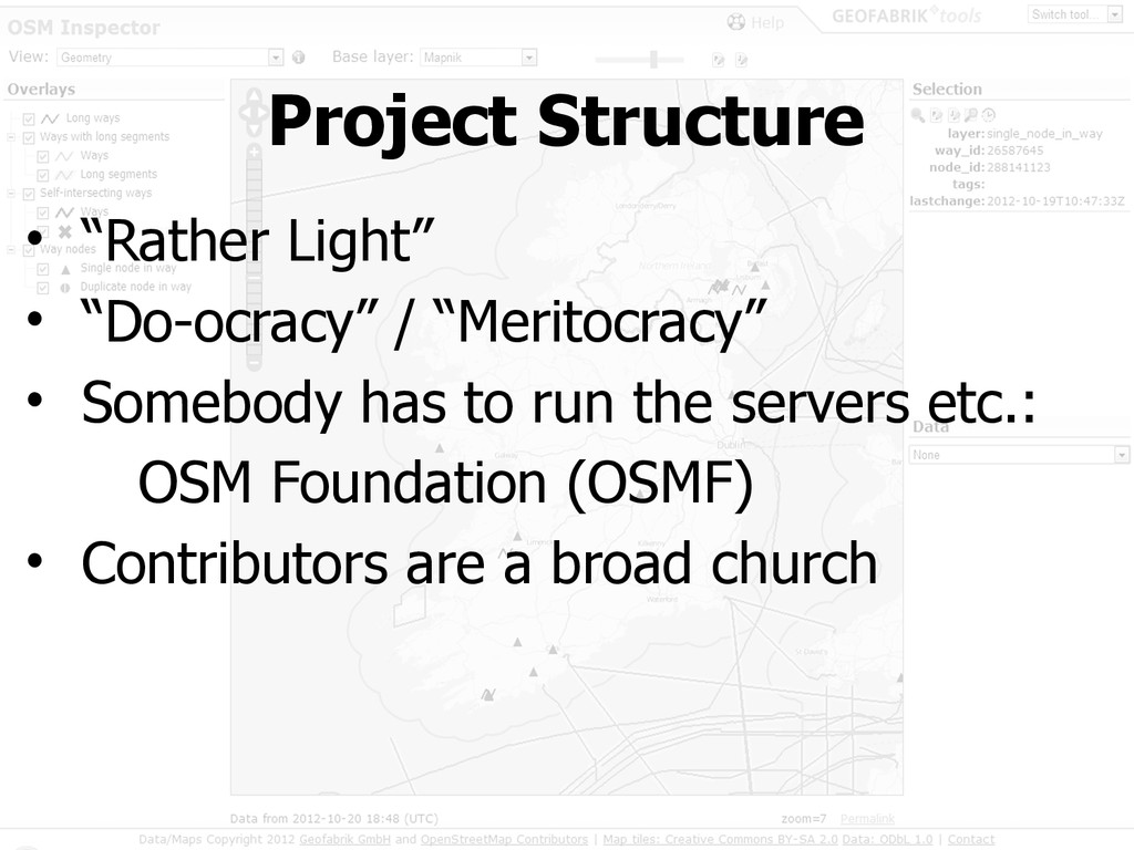 "Project Structure • ""Rather Light"" • ""Do-ocracy..."
