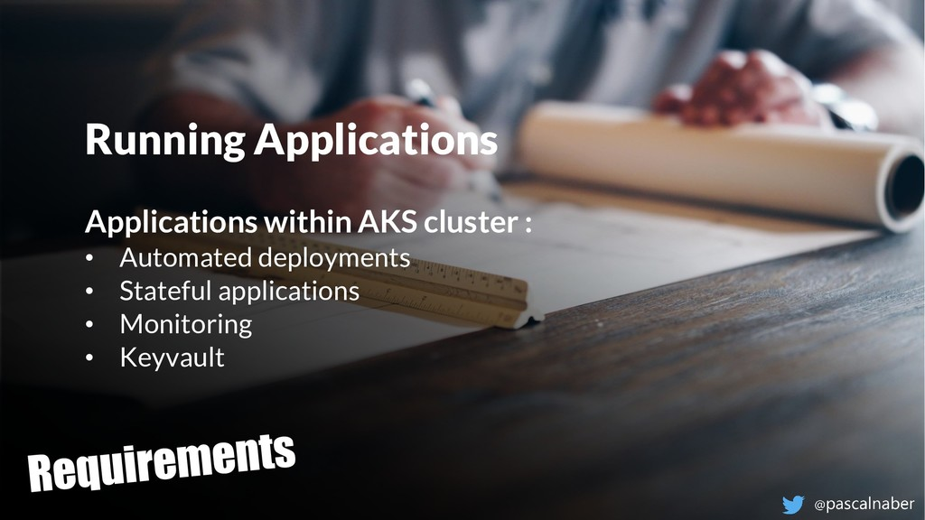 Think ahead. Act now. Running Applications Appl...