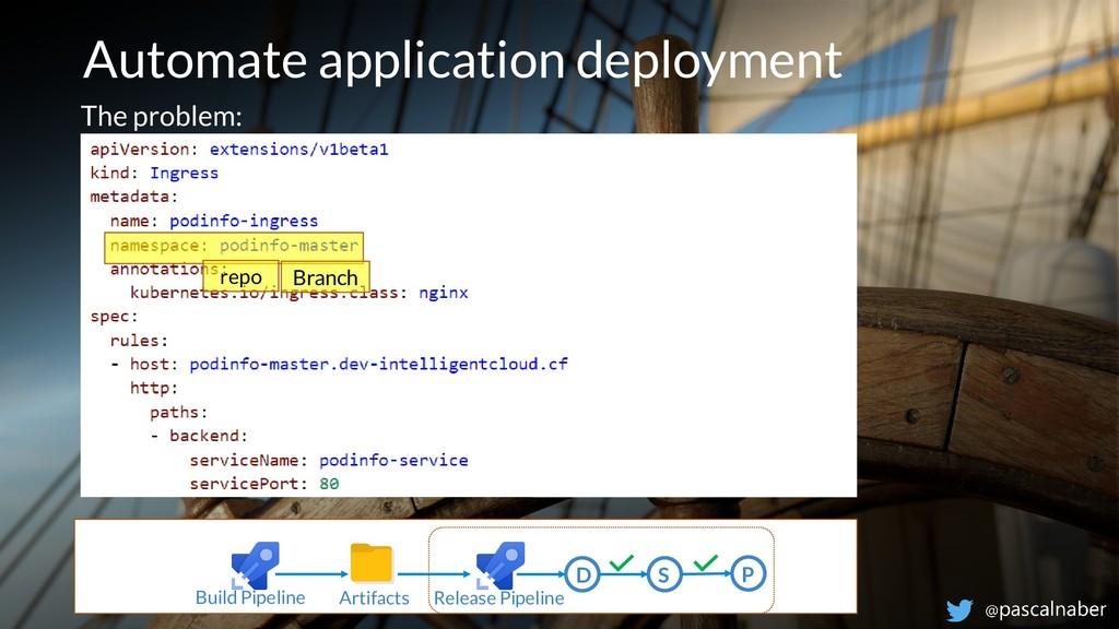 Automate application deployment Build Pipeline ...
