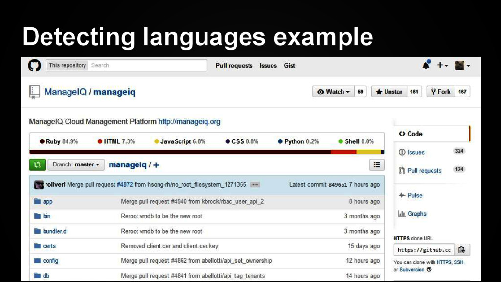 Detecting languages example