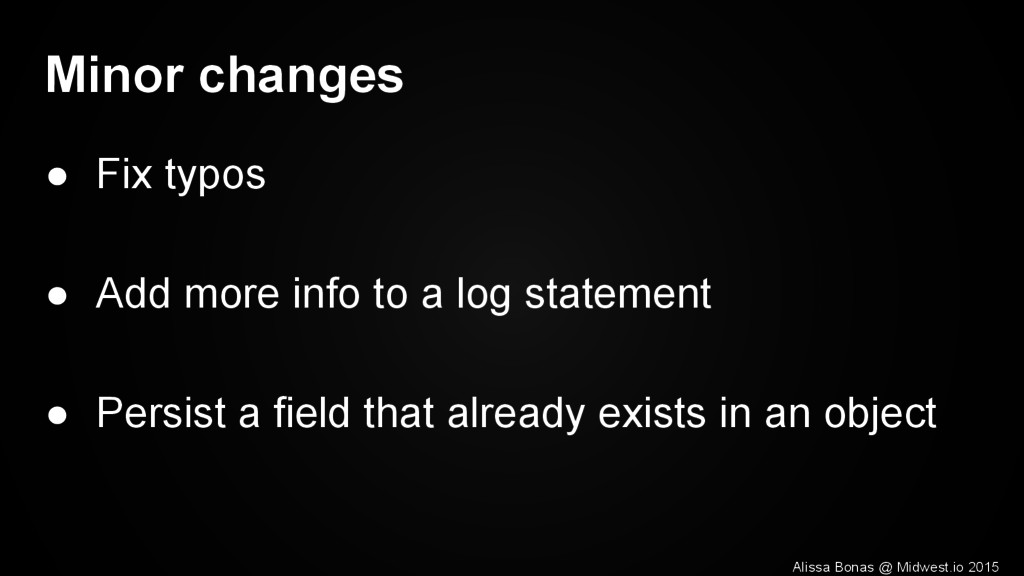 Minor changes ● Fix typos ● Add more info to a ...