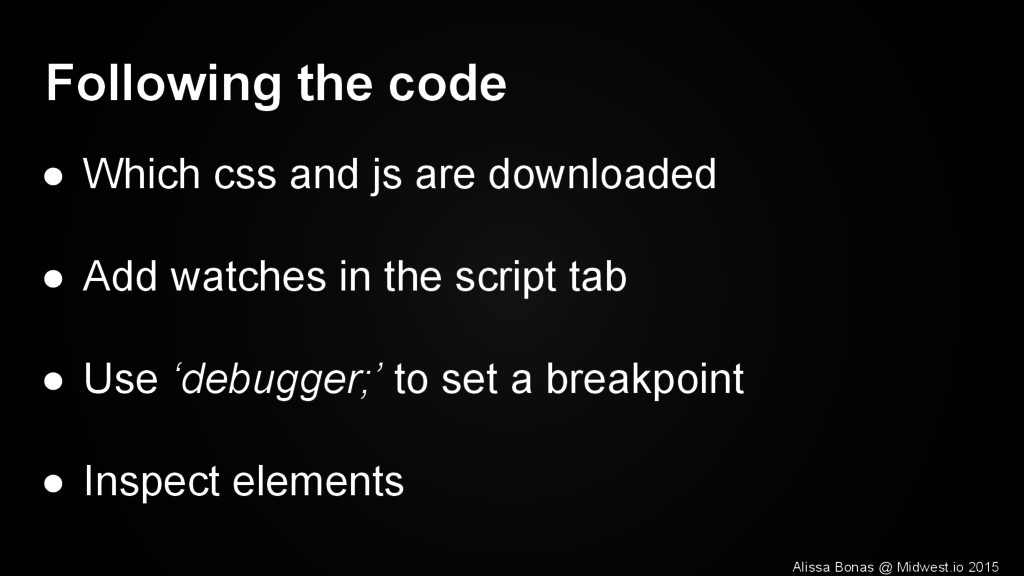 Following the code ● Which css and js are downl...
