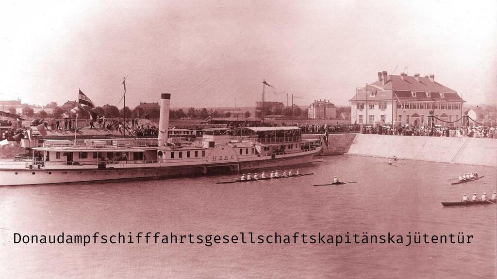 Donaudampfschifffahrtsgesellschaftskapitänskajü...