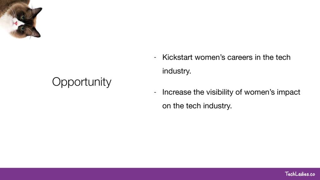 TechLadies.co Opportunity - Kickstart women's c...