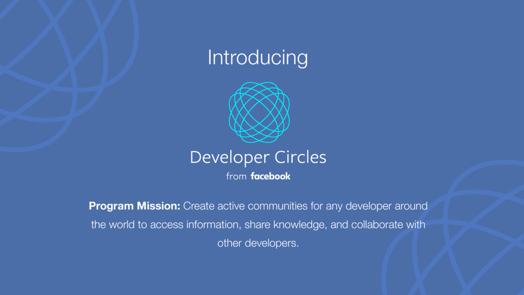 Program Mission: Create active communities for ...