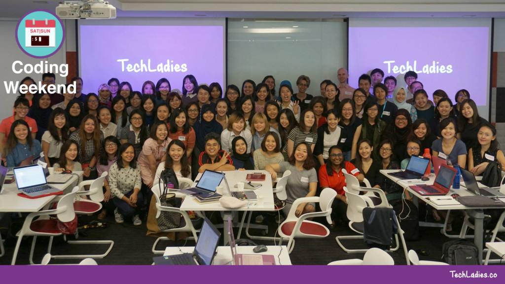 TechLadies.co Coding Weekend