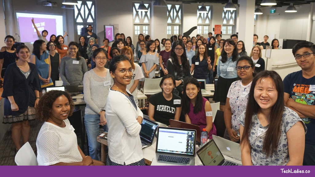 TechLadies.co Help out at events