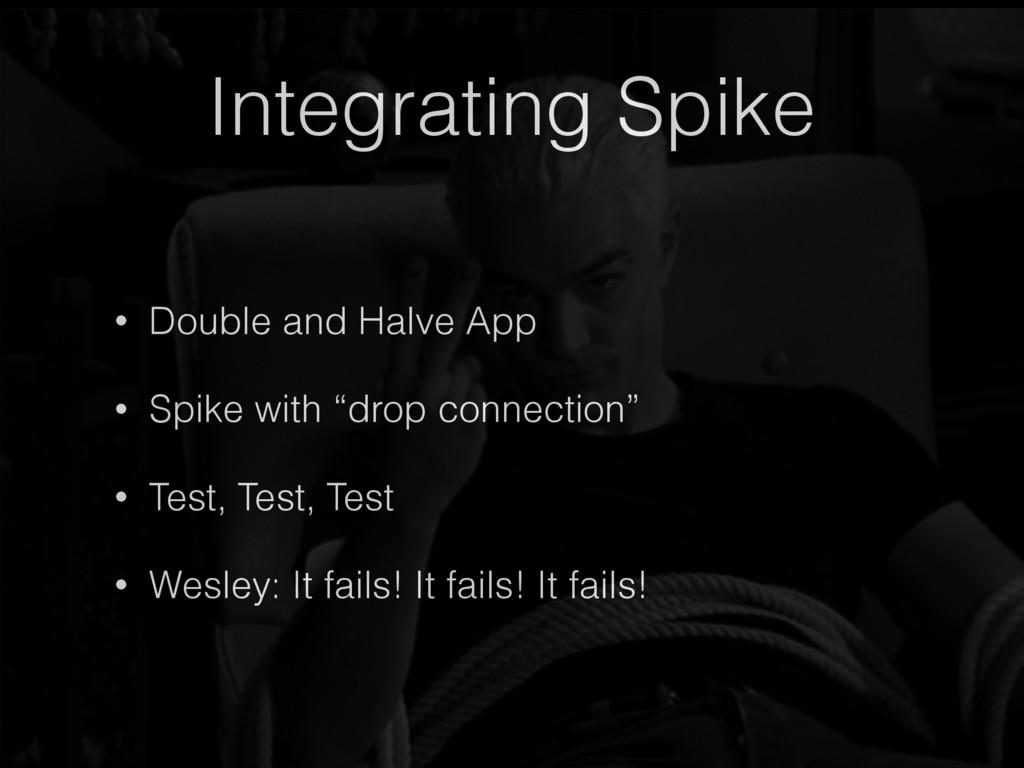 Integrating Spike • Double and Halve App • Spik...