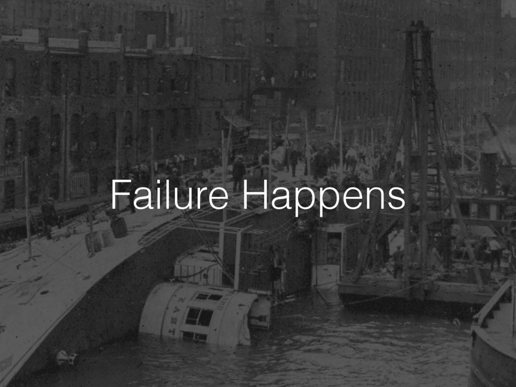 Failure Happens