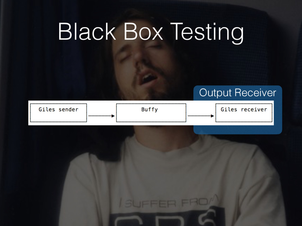 Output Receiver Black Box Testing