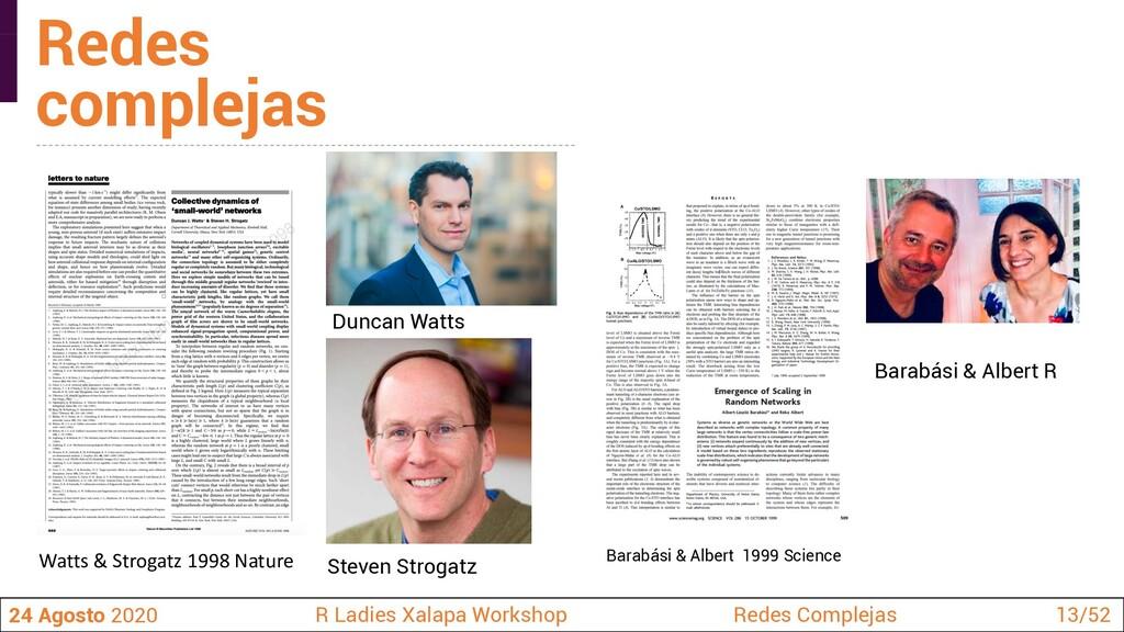 Duncan Watts Steven Strogatz 24 Agosto 2020 R L...