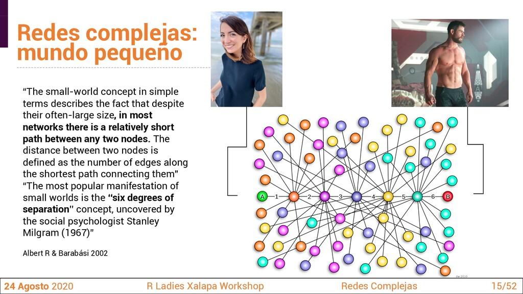 """""""The small-world concept in simple terms descri..."""