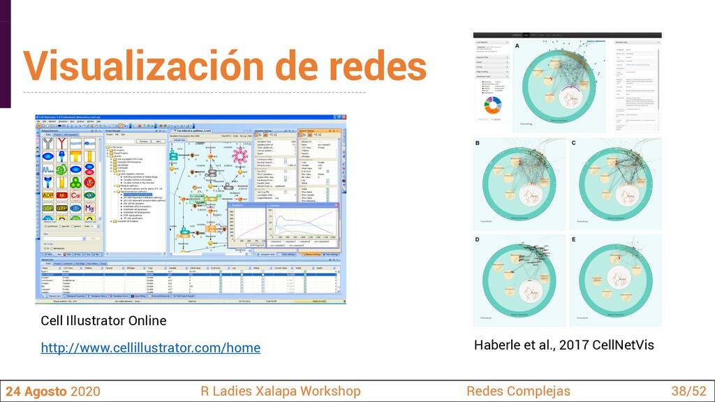 Visualización de redes 24 Agosto 2020 R Ladies ...