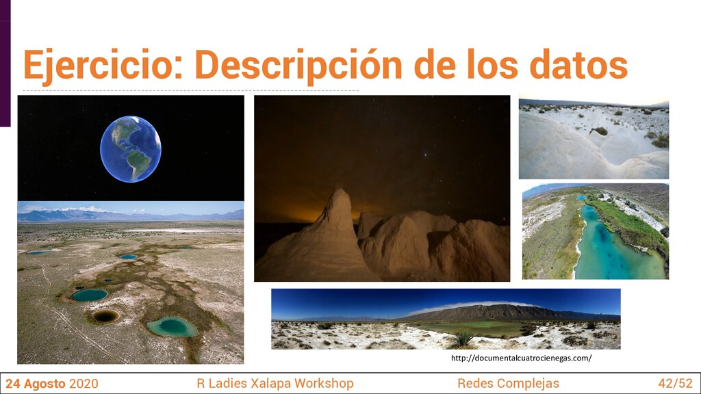 http://documentalcuatrocienegas.com/ Ejercicio:...