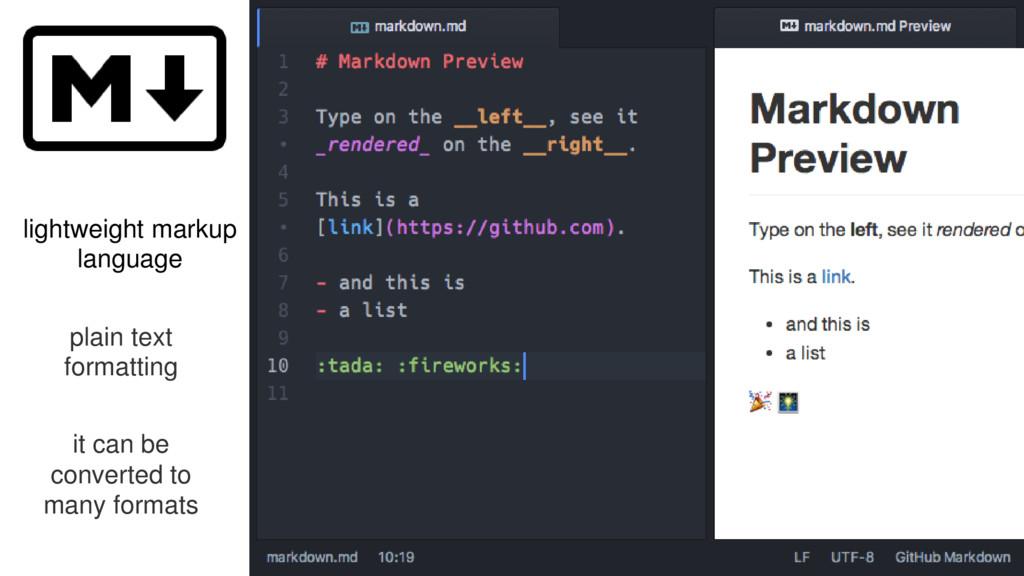 lightweight markup language plain text formatti...