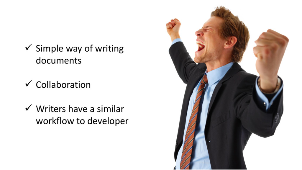  Simple way of writing documents  Collaborati...