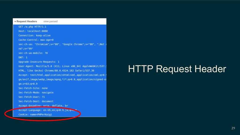 HTTP Request Header 29