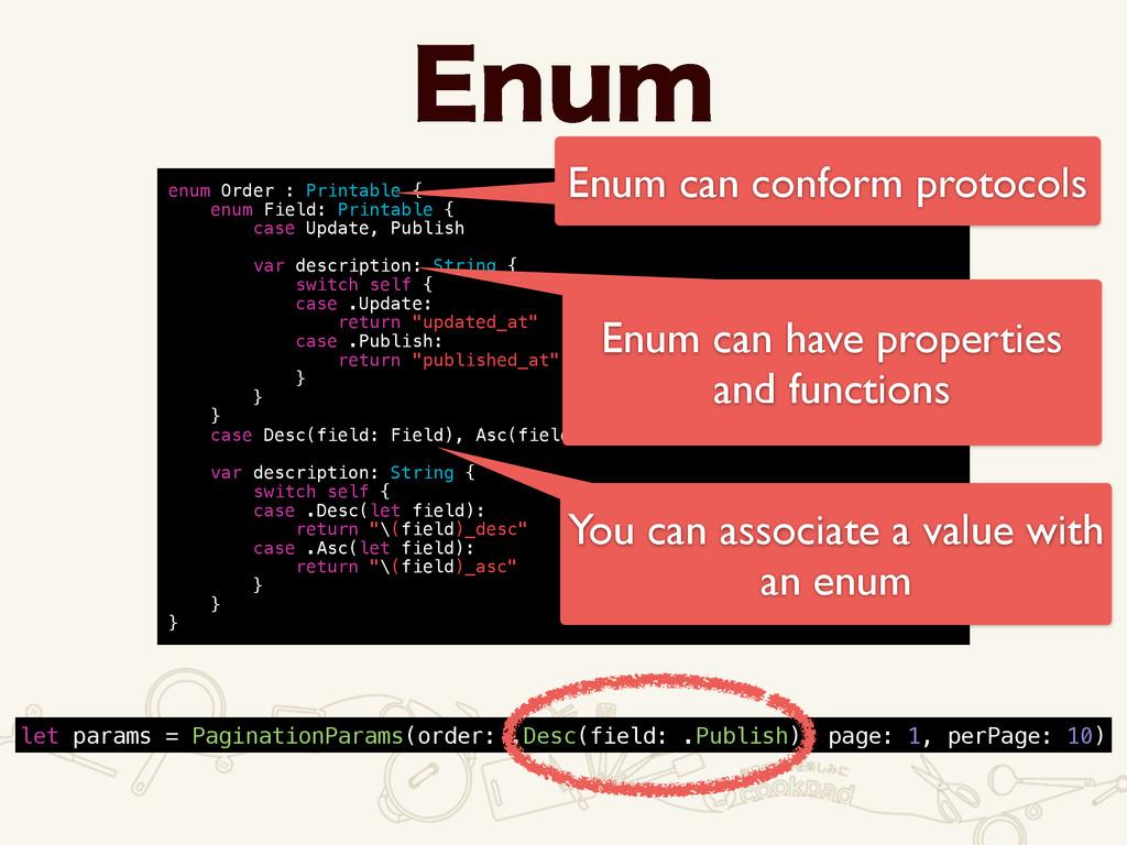 &OVN enum Order : Printable { enum Field: Print...
