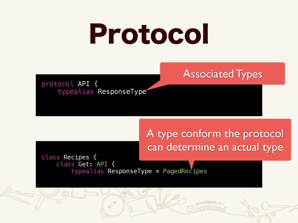 1SPUPDPM protocol API { typealias ResponseType ...