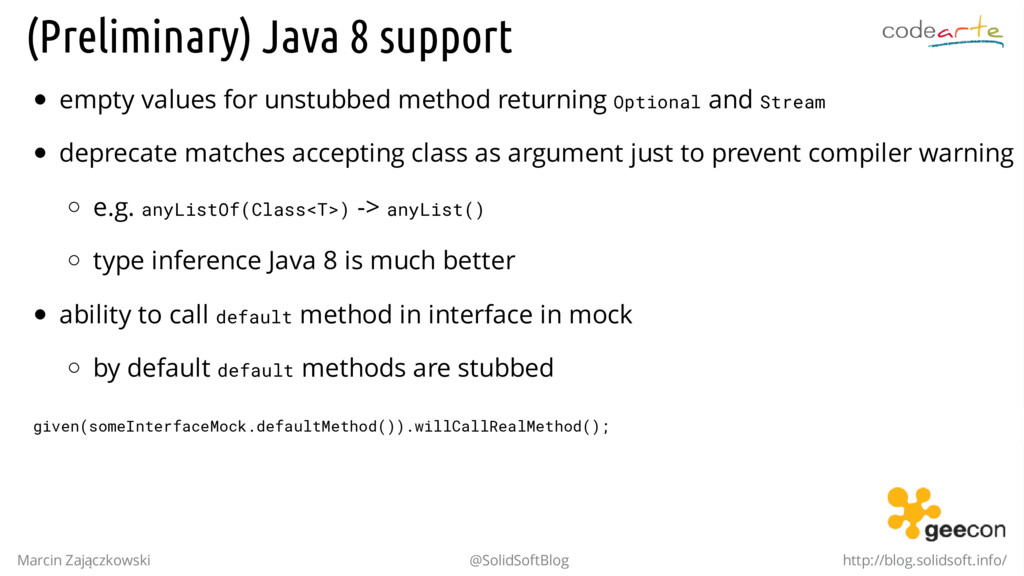 (Preliminary) Java 8 support empty values for u...