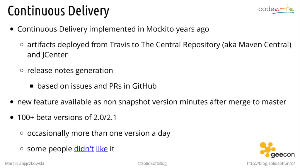 Continuous Delivery Continuous Delivery impleme...