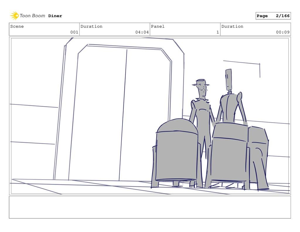 Scene 001 Duration 04:04 Panel 1 Duration 00:09...